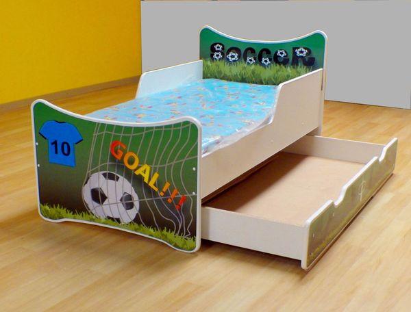 Łóżko SMB + materac - różne wzory - z pojemnikiem