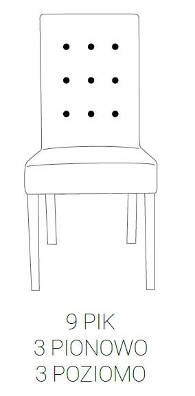 Fotel Modena 85h - 9 PIK: 3pion+3poziom