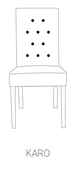 Fotel MILAN 85H - KARO
