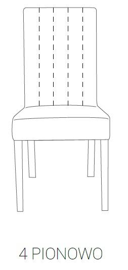 Fotel MILAN 85H - 4 pionowe