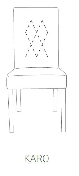 Krzesło SIMPLE 85h - KARO