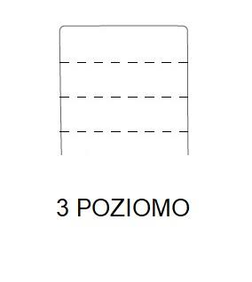Hoker SIMPLE 67h - 3 POZIOMO Przeszycie - 3 szwy poziomo