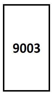 Biurkowy panel akustyczny GRB-4/160x40 - biała