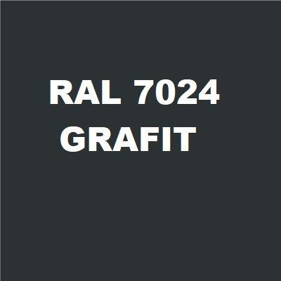 Biurko podporowe  STAND BS10 140x80 cm  - Grafit RAL-7024