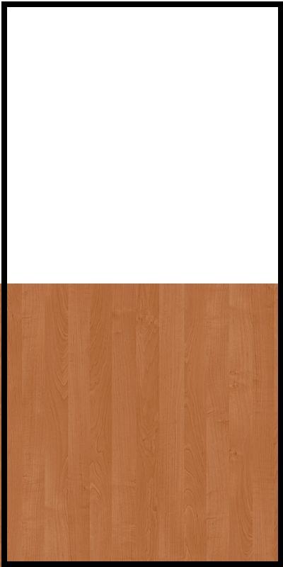 Regał CLASSIC CS14 - Biały Opal/Olcha