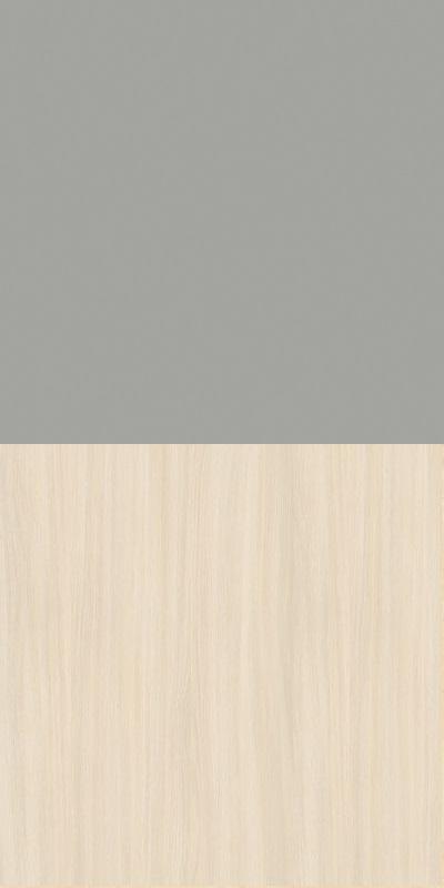 Szafa CLASSIC CS12 - Szary Chinchila/Dąb Mleczny