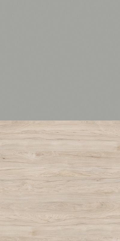 Regał CLASSIC CS14 - Szary Chinchila/Orzech Rockford Jasny