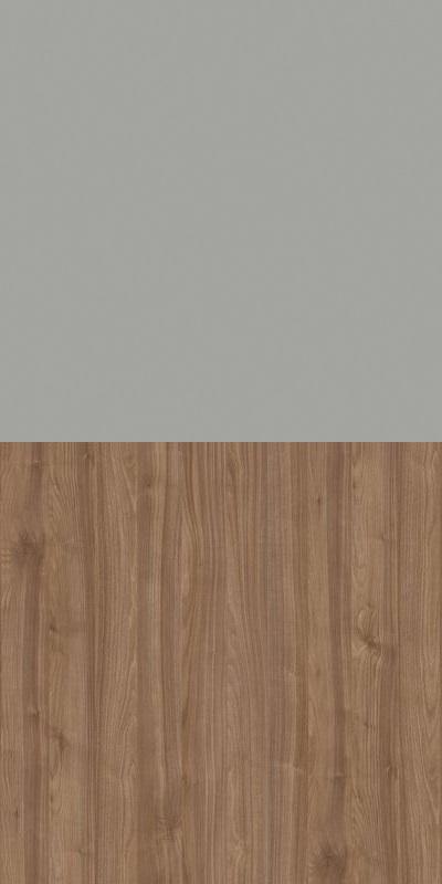 Szafa CLASSIC CS12 - Szary Chinchila/Orzech Select Ciemny