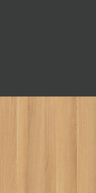 Szafa CLASSIC CS12 - Antracyt/Dąb Nova