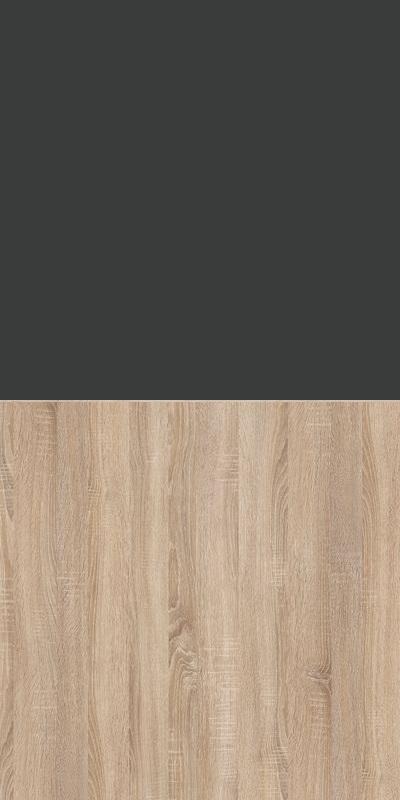 Szafa CLASSIC CS12 - Antracyt/Dąb Sonoma Jasny