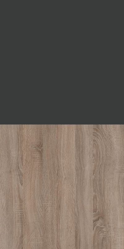 Szafa CLASSIC CS12 - Antracyt/Dąb Truflowy