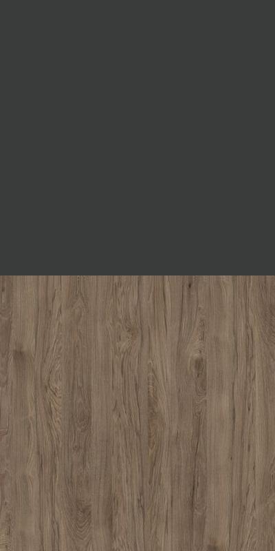Szafa CLASSIC CS12 - Antracyt/Orzech Rockford Ciemny