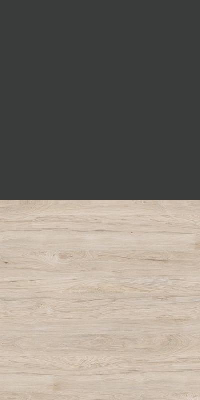 Szafa CLASSIC CS12 - Antracyt/Orzech Rockford Jasny