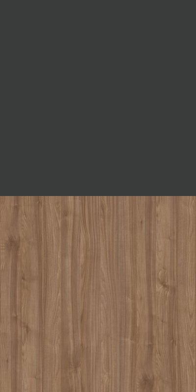 Regał CLASSIC CS14 - Antracyt/Orzech Select Ciemny