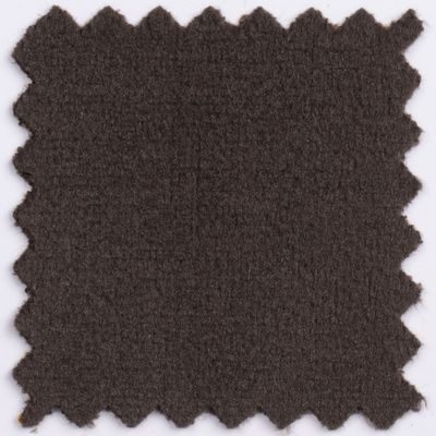 Fotel gabinetowy MOON WOOD WHITE - Magic Velvet: MV08 brązowy