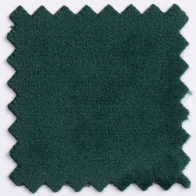 Fotel gabinetowy MOON WOOD WHITE - Magic Velvet: MV16 ciemny zielony