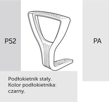 Fotel Biurowy obrotowy RAYA 23 - P52 PA