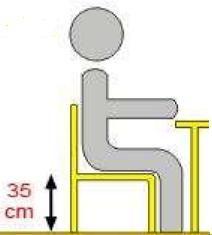 Krzesło ucznia  GAWEŁ - rozmiar 3