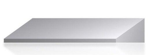 Szafa metalowa szkolna ubraniowa BHP/3/3MP - daszek 900 mm