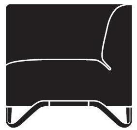 Sofa SoftBox 3R/L - prawostronna