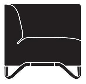 Sofa SoftBox 3R/L - lewostronna