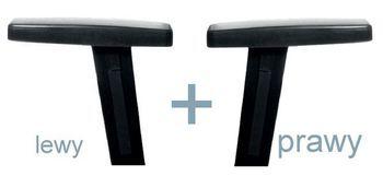 Krzesło konferencyjne STRIKE - na 4 nogach tapicerowane siedzisko - dwa podłokietniki