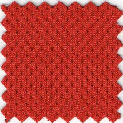 Krzesło konferencyjne Set White V Net Chrome - FLEX FX-02 czerwony