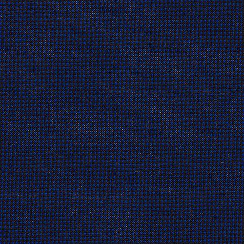 Krzesło konferencyjne STRIKE - na 4 nogach tapicerowane siedzisko - TKB-040 czarno-niebieski