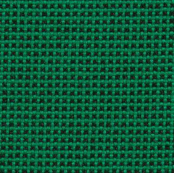 Krzesło konferencyjne STRIKE - na 4 nogach tapicerowane siedzisko - TKB-060 czarno-zielony