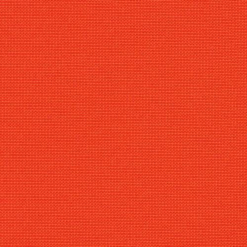 Krzesło konferencyjne STRIKE - na 4 nogach tapicerowane siedzisko - TKF-110 pomarańcz