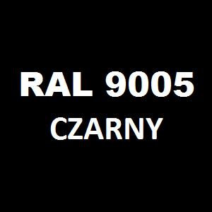 Stelaż metalowy do biurka lub stołu  ST-A2 noga okrągła fi 4 długość=45 cm - RAL 9005 - czarny