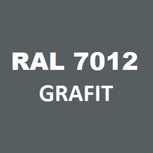 Stelaż metalowy do biurka lub stołu  ST-A2 noga okrągła fi 4 długość=45 cm - RAL 7012 - grafit