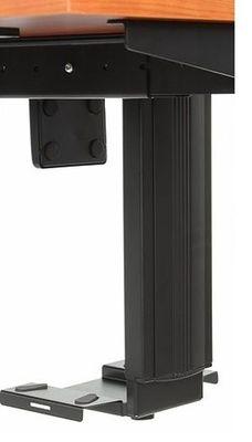 Stelaż elektryczny do stołu i biurka EF-STE-01T czarny - regulacja wysokości - Półka podwieszana na komputer
