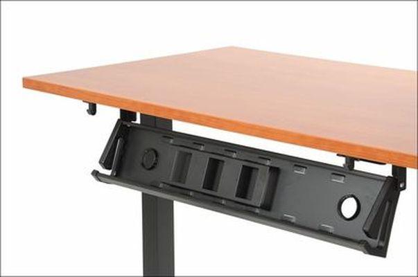 Stelaż elektryczny do stołu i biurka EF-STE-01T czarny - regulacja wysokości - Kanał poziomy