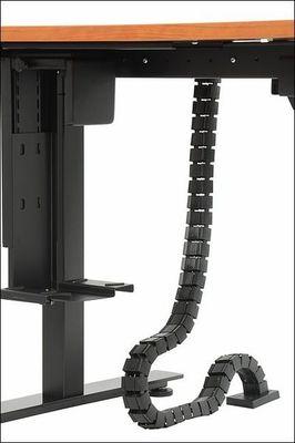 Stelaż elektryczny do stołu i biurka EF-STE-01T czarny - regulacja wysokości - Kanał pionowy