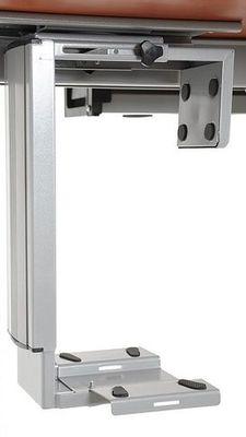 Stelaż elektryczny dwusilnikowy EF-A103-2/T2/Aluminium - Półka podwieszana na komputer