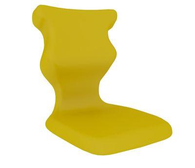 ENTELO Dobre Krzesło obrotowe TWIST naked nr 6  - Żółty RAL 1018
