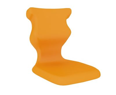 Krzesło szkolne Student PLUS soft nr 6 z pulpitem - Pomarańczowy RAL 2011