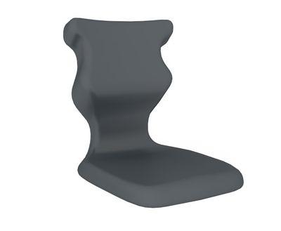 ENTELO Dobre krzesło obrotowe POCKET nr 6 - Szary RAL 7031