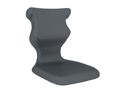 Krzesło ucznia Spider nr 1 - Szary RAL 7031