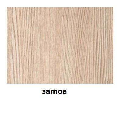 Stolik BANKO 1-osobowy - blat z regulacją kąta nachylenia - Samoa