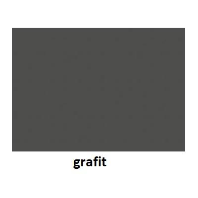 Stolik BANKO 1-osobowy - blat z regulacją kąta nachylenia - Grafit