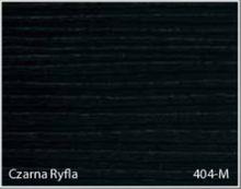 Stolik BANKO 1-osobowy z regulacją pochyłu blatu i wysokości - Czarna ryfla 404-M