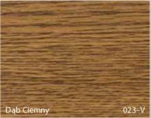 Stolik BANKO 1-osobowy z regulacją pochyłu blatu i wysokości - Dąb ciemny 023-V