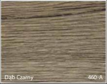 Stolik BANKO 1-osobowy z regulacją pochyłu blatu i wysokości - Dąb czarny 460-A
