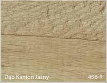 Stolik BANKO 1-osobowy z regulacją pochyłu blatu i wysokości - Dąb kanion jasny 456-R