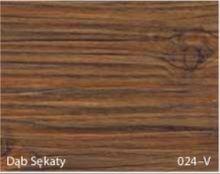 Stolik BANKO 1-osobowy z regulacją pochyłu blatu i wysokości - Dąb sękaty 024-V