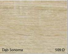 Stolik BANKO 1-osobowy z regulacją pochyłu blatu i wysokości - Dąb sonoma 509-D
