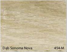 Stolik BANKO 1-osobowy z regulacją pochyłu blatu i wysokości - Dąb sonoma nova 454-M