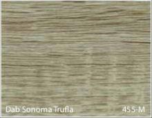 Stolik BANKO 1-osobowy z regulacją pochyłu blatu i wysokości - Dąb sonoma trufla 455-M